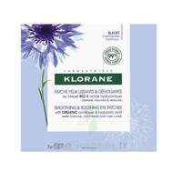 Klorane Bleuet Bio Patchs Défatigants Express 7x2 Patchs à BU