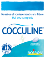 Boiron Cocculine Comprimés Orodispersibles B/40 à BU